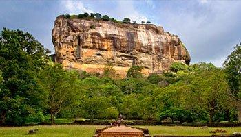 Sigiriya rock ancient sri lanka